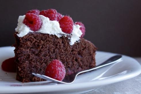 Torta al cioccolato fetta small